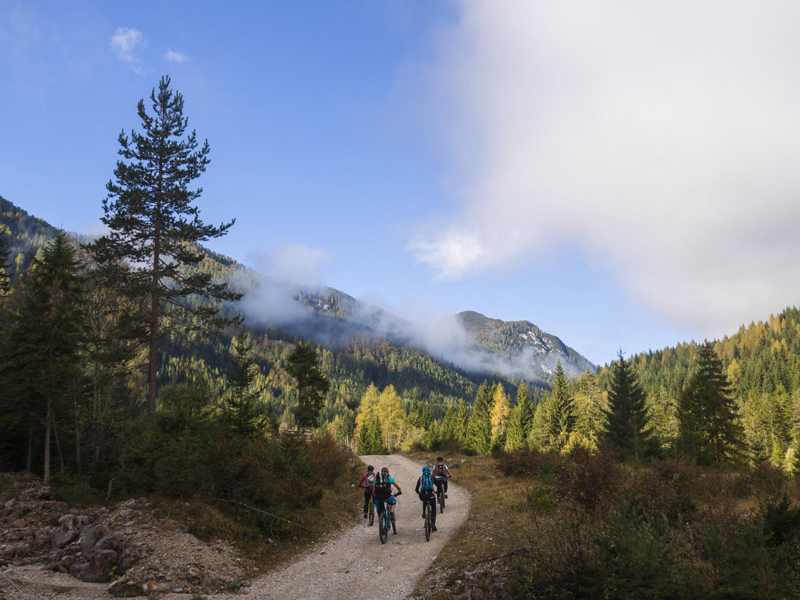Bike-Skills verbessern beim Gralhof-Bike-Camp
